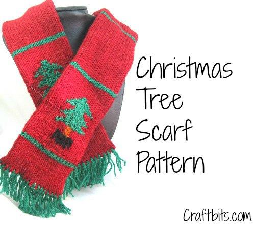 Children's Scarf: Christmas Tree