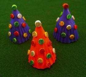 Glitter Christmas Tree Craft