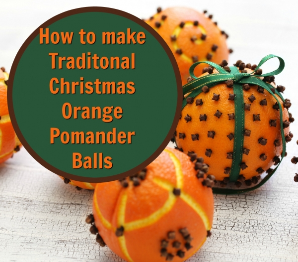 Orange and Clove Pomanders
