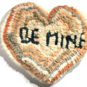 Hooked Rug - Valentine Heart