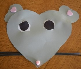 Valentines Paper Mouse