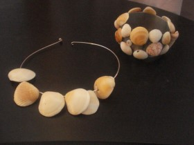 Seashell Choker Necklace