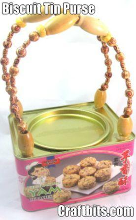 Biscuit Tin Purse