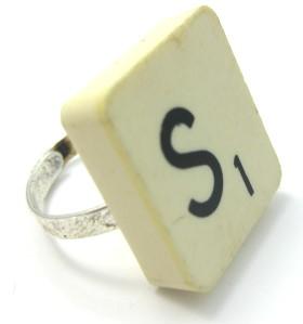 Ring – Scrabble Tile