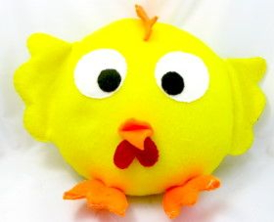 Plushie for Splat Chicken – Angry Birds Style
