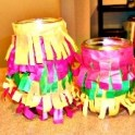 Shaggy Cinco Candle Lanterns