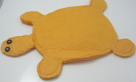 Upcycled Shamwow – Turtle Soap Mitt