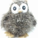 Knitted Fluffy Owl