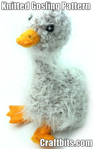 Knitted Gosling