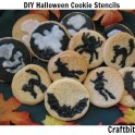 DIY Halloween Cookie Stencils