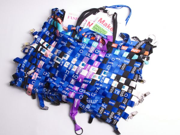 Recycled Lanyard Purse