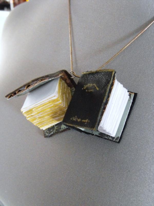 Mini Spell Book Pendant