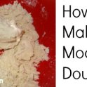 Moon Dough - Homemade Playdough