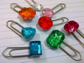Paper Clip Bookmarks