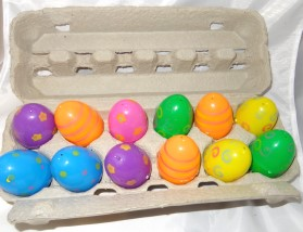 Sensory Game – Plastic Easter Egg
