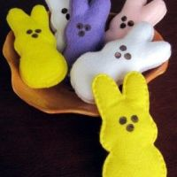How to make felt Bunny Peeps