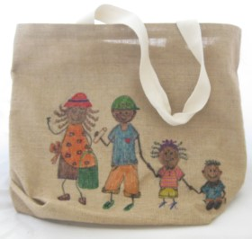 Upcycled Jute Bag