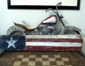 4th of July – Barn Wood Flag
