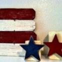 Patriotic Star Block Craft