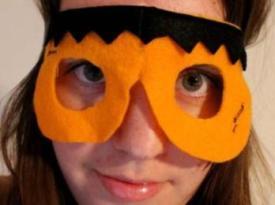 Halloween Felt Monster Mask