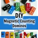 Magnetic Counting Dominos