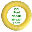 Wreath - Pool Noodle Base