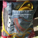 Recycle Old Jeans Into A Needle Case