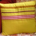 Recycled Ribbons Cushion Cover