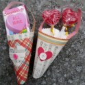 Easy Paper Valentine's Treat Cones