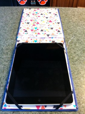 iPad Case – Recycled Books