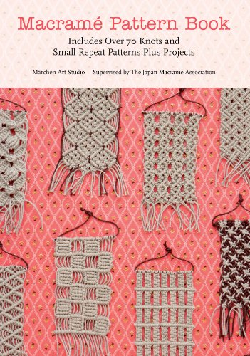 Win a copy of the Macrame Pattern Book by Marchen Art