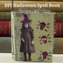 Halloween Spell Book Ornament