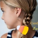 Candy Corn Barrettes