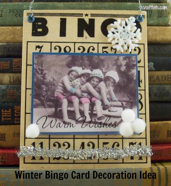 Winter Bingo Card Collage