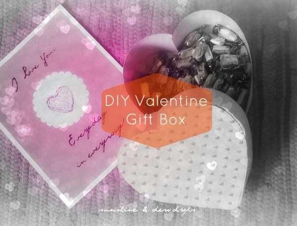 DIY Valentine's Gift Box