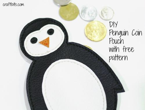 Penguin Coin Pouch