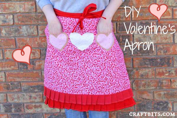 DIY Valentine's Apron: Great Sewing Project