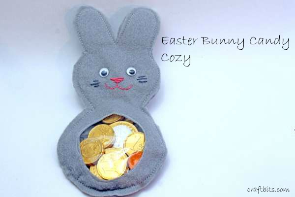 Easter Bunny Candy Cozy