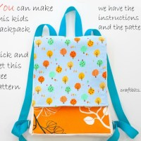 Make Your Own Kid's Backpack