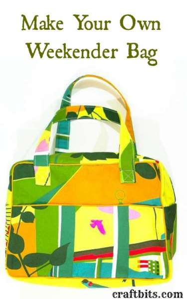Make Your Own Weekender Bag - Sewing Patterns and Ideas ...