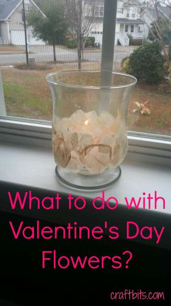 Post Valentine's Day Petal Luminaries