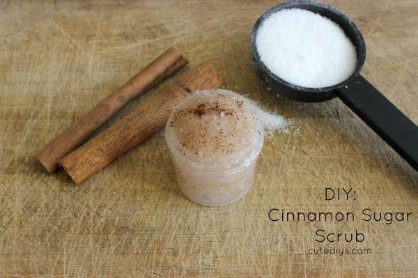 DIY: Cinnamon Sugar Scrub