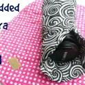 DIY Camera Lens Padded Wrap for Travel
