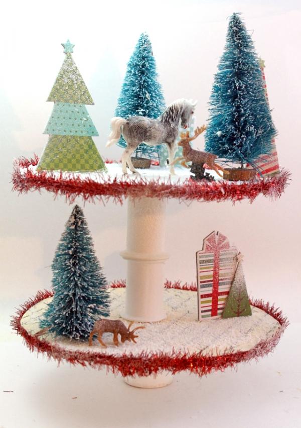 Christmas Scene Display