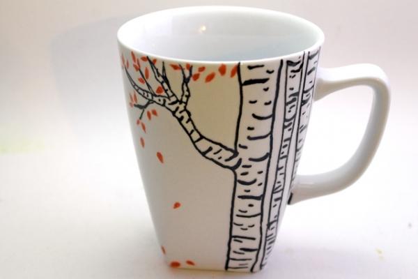 How to paint a Coffee Mug