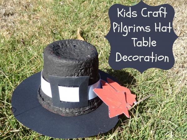 Thanksgiving Pilgrims Hat Decoration