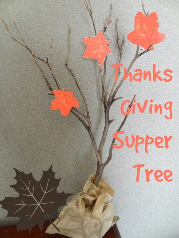 Thanksgiving – Give Thanks Tree