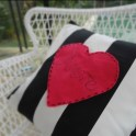 Valentine's Day No-SEW IKEA Hack Amore Cushion