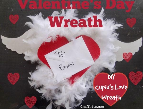 Valentine's Day Cupid Wreath