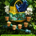 Make a Spring Time Garden Wreath